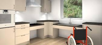 Kitchen Design For Disabled