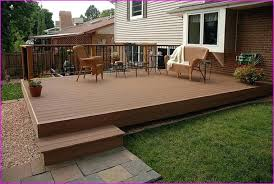 deck over concrete patio design building a with idea 0