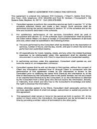 Consulting Agreement Form - 6 Free Templates In Pdf, Word, Excel ...