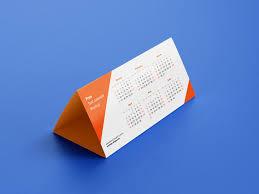 Photoshop Calendar Template 2020 Free Dl Tent Desk Calendar 2020 Mockup Psd Set Good Mockups