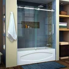 bathtub glass sliding doors enigma bathtub sliding glass door repair
