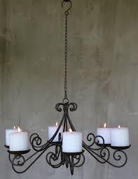 Lüster Kronleuchter Shabby Kerzen Vintage Landhaus