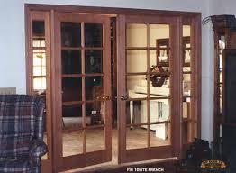 interior french door 8 with sidelites between rooms