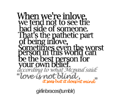 Love Is Blind Quotes Awesome Love Is Blind Quotes Love Quotes