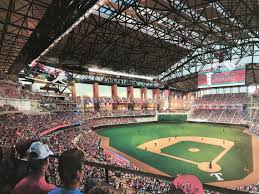 Ballpark At Arlington Seating Chart Rangers Planning Globe Life Field Seating Ballpark Digest
