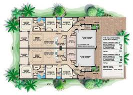 floor plan first story of california style plan 133 1015