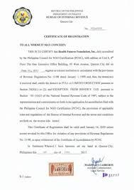 Hfi Renews Donee Institution Status With The Bri