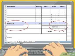 Create A Commercial Invoice How To Create A Commercial Invoice 11 Steps With Pictures