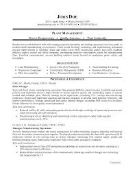 Manufacturing Resume Samples Oilfield Resume Samples Manufacturing ...