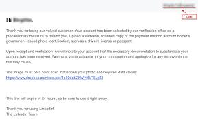 Phishing Affairs Linkedin Wildsecurity New Is Campaign A The Out Watch In Spreading