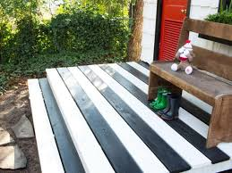 how to paint a deck