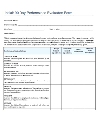 employee evaluation feedback employee performance feedback form template survey getpicks co
