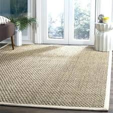 natural fiber outdoor rugs 8 square rug casual natural fiber natural and ivory border rug 8 natural fiber outdoor rugs