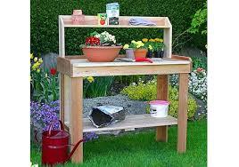 potting bench outdoor potting bench