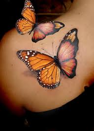 тату 3д бабочка бабочки 1 в тату эскизах рисуем на заказ фото 3d