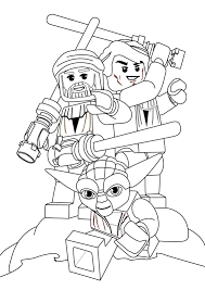 Lego Star Wars Coloring Pages Curiertech