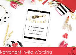 Invitation Wording For Dinner Retirement Party Invitation Wording