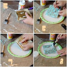 How to make a Fabric Covered Switch Plate cover tutorial at TidyMom.net