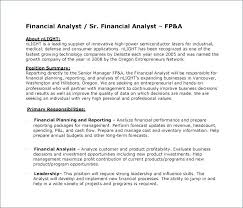 Revenue Analyst Job Description A Analyst Sample Resume Financial ...