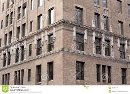 Fenster Nah Oben Vom Gebäude In New York City Stockbild Bild Von