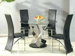 modern glass dining room sets glass dining table decor ideas modern glass dining room sets black