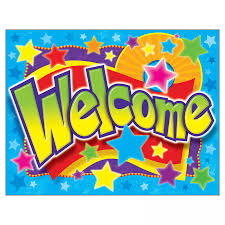 Welcome Chart Images Welcome Stars Learning Chart