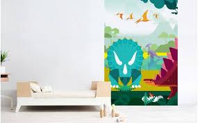 dinosaur wallpaper mural cool toddler