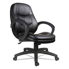 home chairs stools seating accessories chairs stools alera pf series mid back leather office