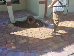 how to clean grease off patio pavers ideas