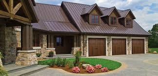 walnut garage doorsWalnut color new option on Canyon Ridge Collection garage doors