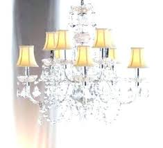 shaded chandelier and crystal drum shade crystal chandelier crystal chandelier silver drum shade and rich crystal