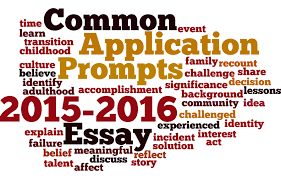 common application essay prompts applying to college 2015 2016 common application essay prompts