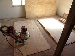 awesome plywood plank floor sanding sheets with al flooring sander how to install on concrete wooden