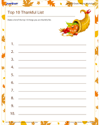 Get 2nd Grade Writing Worksheets and Printables   Thanksgiving ...