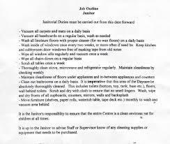 school custodian resume business machine operator job description
