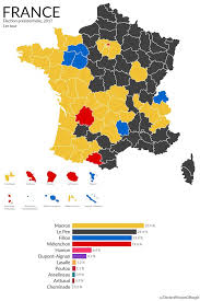 presidential elecion results frances 2017 presidential election results mapped