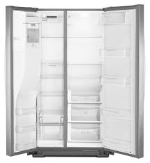 kenmore black refrigerator. kenmore elite - 51163 26 cu. ft. side-by-side refrigerator stainless steel | sears outlet black