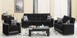 Gallery of Designs black sofa set