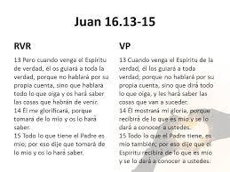 Resultado de imagen para Juan 16,13-15