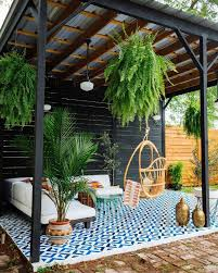 Outdoor Space Design App A Bold And Fun Inviting Outdoor Space With A Brilliant Use