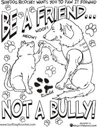 Small Picture Free Bullying Coloring Pages Printable For Kids Worksheets Lesson