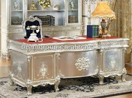classical office furniture. french style soild wood office desk set silver color wooden furnitureclassical home classical furniture