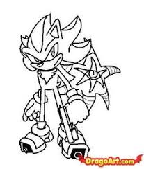 Small Picture shadow the hedgehog coloring pages paint shadow the hedgehog by