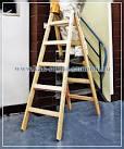 Как сделать деревянную складную лестницу