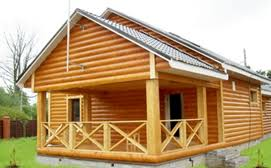Блок-хаус внешняя отделка дома