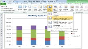 How To Add Data Labels In Excel Excelchat Excelchat