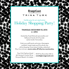 Exclusive Trina Turk Holiday Shopping Party