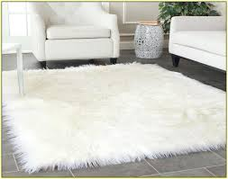 amazing alluring faux fur area rugs remarkable sheepskin rug with ideas 3 4x6 4 x 6