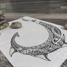 Maori Hook Dots Work Andreyfrey Tattoo Polinesia Ornamentalika