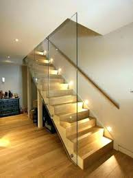 staircase lighting ideas. Basement Stair Lighting Stairway Floating Staircase Indoor Led For Stairwell Ideas